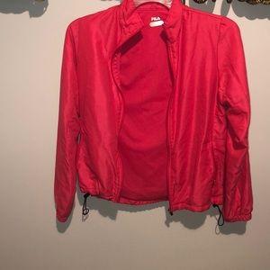 Pink Fila Sports Jacket